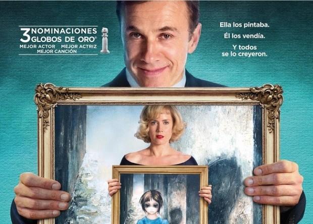 Cartel de la película Big Eyes, dirigida por Tim Burton.