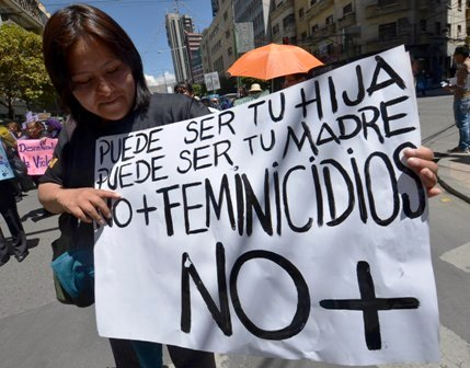 Manifestación feminista. Imagen: Alianza por la Solidaridad.