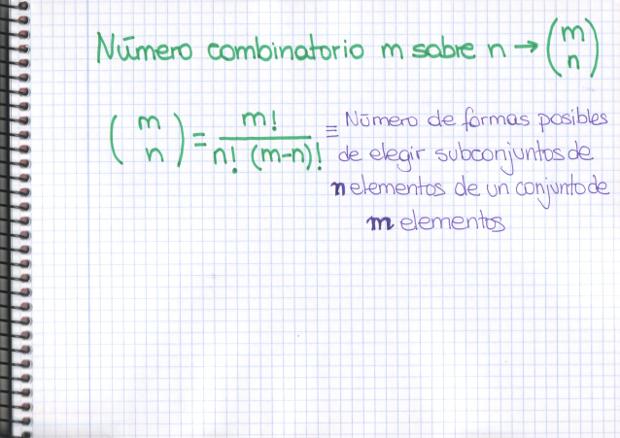 combinaciones sin repetición | Mati, una profesora muy particular
