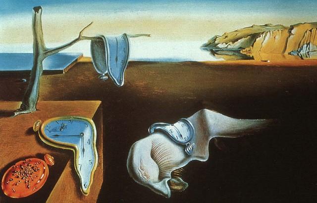 """""""La persistencia de la memoria"""", de Salvador Dalí."""