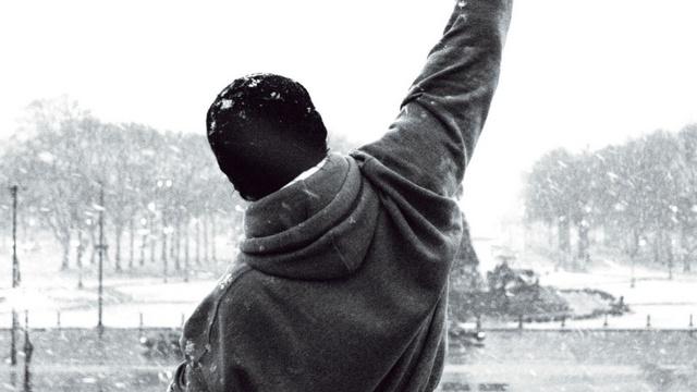 Fotograma de 'Rocky'.