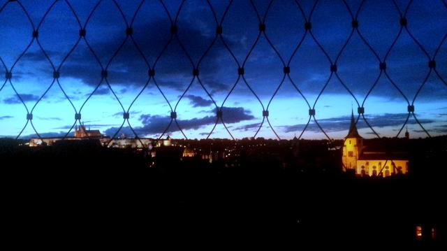 FOTO: @simpulso desde la terraza de mi hotel en Praga