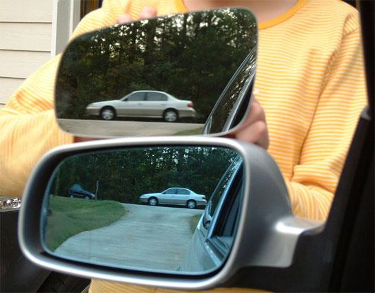 Espejo convexo test for Espejo que hace fotos