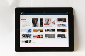 iPad con la tecnología Marfeel