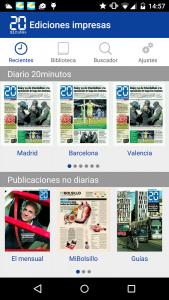 Imagen de la aplicación en Google Play. (20minutos)