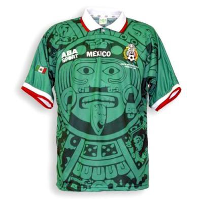 a98cca8f88dc1 Camisetas para la historia. México 1998 (Piedra del Sol o Calendario ...
