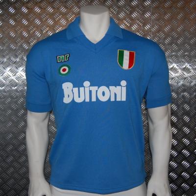 Camisetas para la historia. Nápoles 1985-1988  059cf1af81224