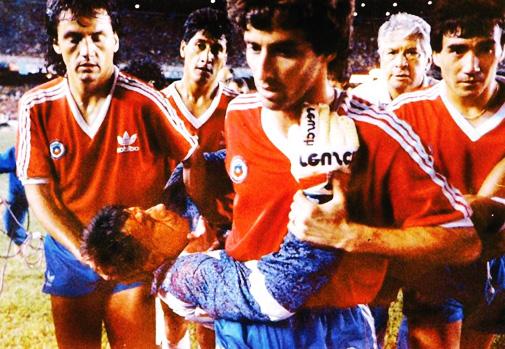 Resultado de imagen de brasil chile 1989