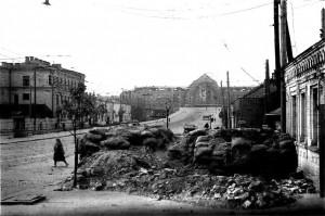 ruins of barricade