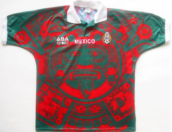 Camisetas para la historia. México 1998 (Piedra del Sol o