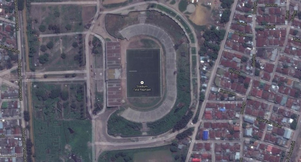 Vista aérea del estadio (GOOGLE MAPS)