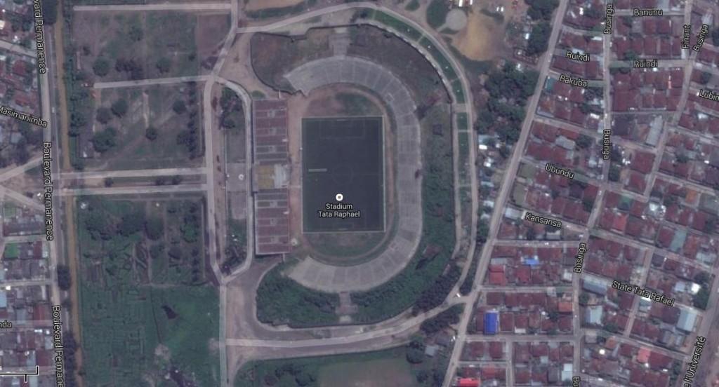 Vista aérea del estadio (GOOGLE MAPS)