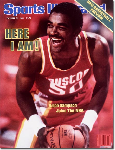 Portada de la revista 'Sports Illustrated' sobre la irrupción de Ralph Sampson en la NBA (SI.COM)