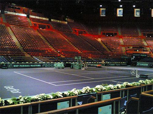 El interior del Palais, en el Masters de Tenis (BENOIT DARCY/FLICKR)