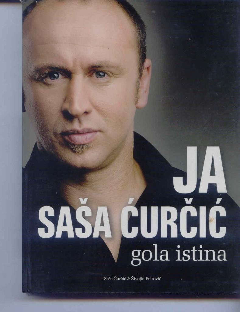 Portada de la biografia de Sasa Curcic.