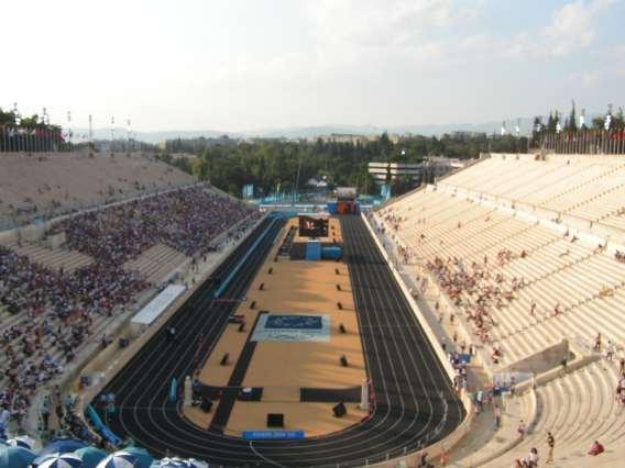 Vista del estadio Panathinaikó, en la actualidad (WIKIPEDIA)