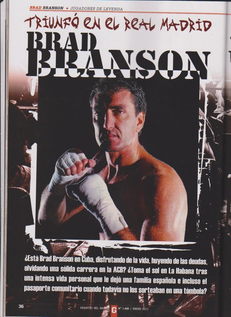 Brad Branson (GIGANTES DEL BASKET)