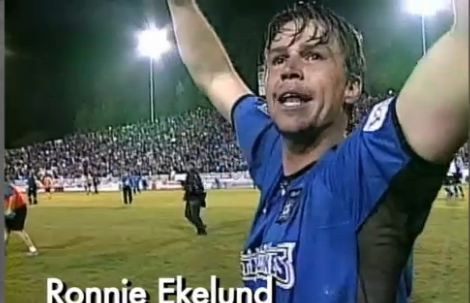 Ronnie Ekelund, en los San Jose Earthquakes (YOUTUBE)