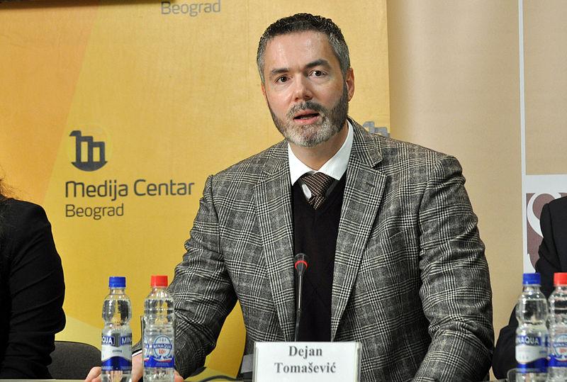 Dejan Tomasevic, en la actualidad (WIKIPEDIA).