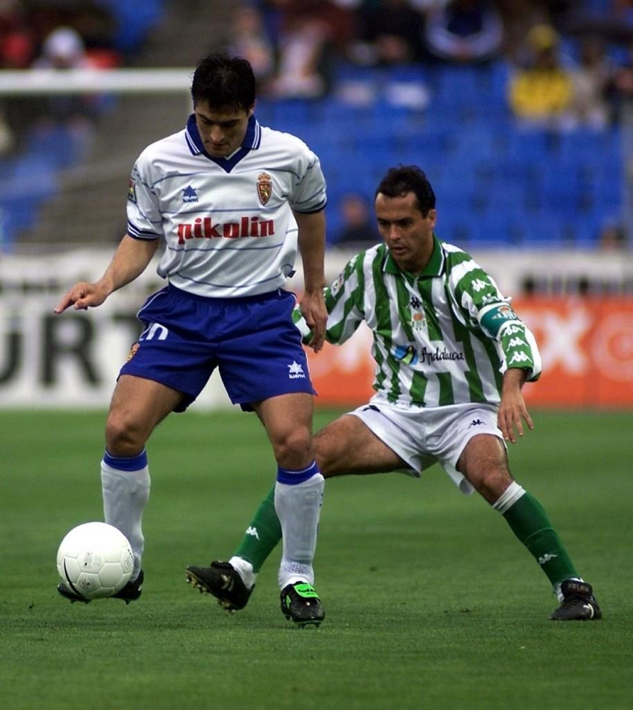 Acuña, en un partido de Liga con el Zaragoza ante el Betis (Archivo 20minutos).