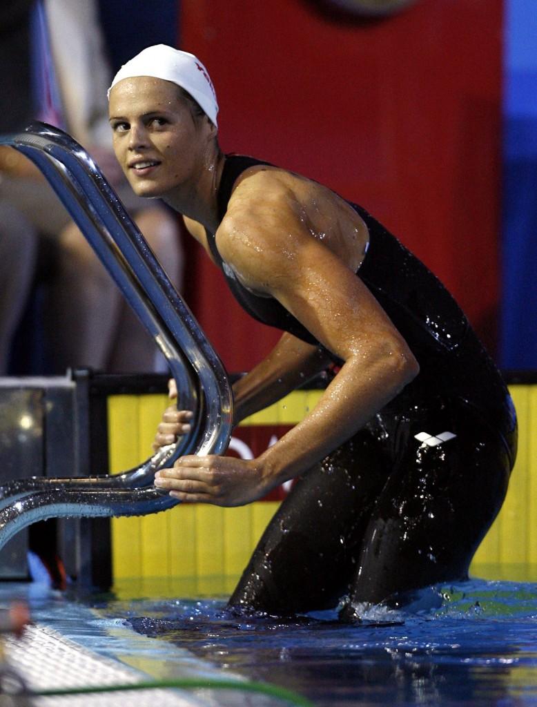 Laure Manaudou, en el Mundial de 2007 (Archivo 20minutos).