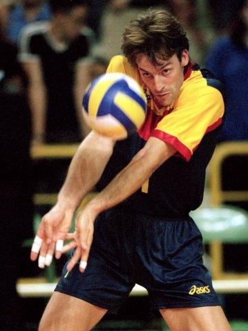 Rafa Pascual, en acción con la selección española (ARCHIVO 20Minutos)