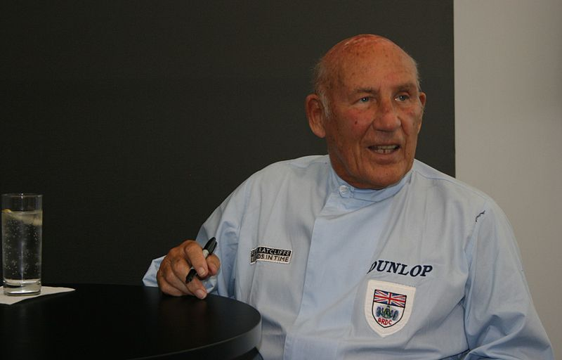 Stirling Moss, en 2008 (WIKIPEDIA)