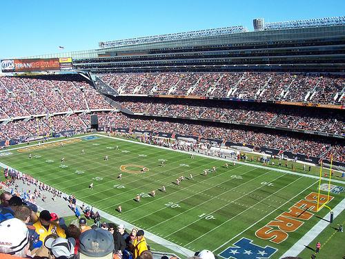 Vista general del Soldier Field de Chicago (WIKIPEDIA).