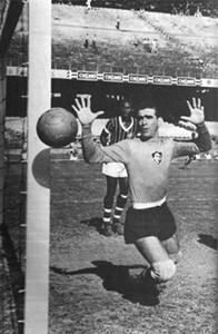 Carlos José Castilho, en un partido con el 'Flu' (Web Fluminense)