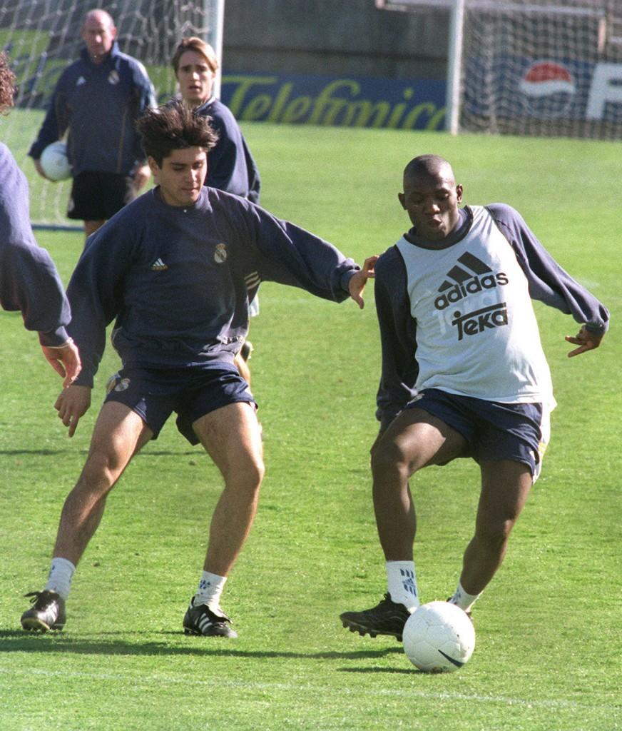 Geremi, en un entrenamiento del Real Madrid (Archivo 20minutos).