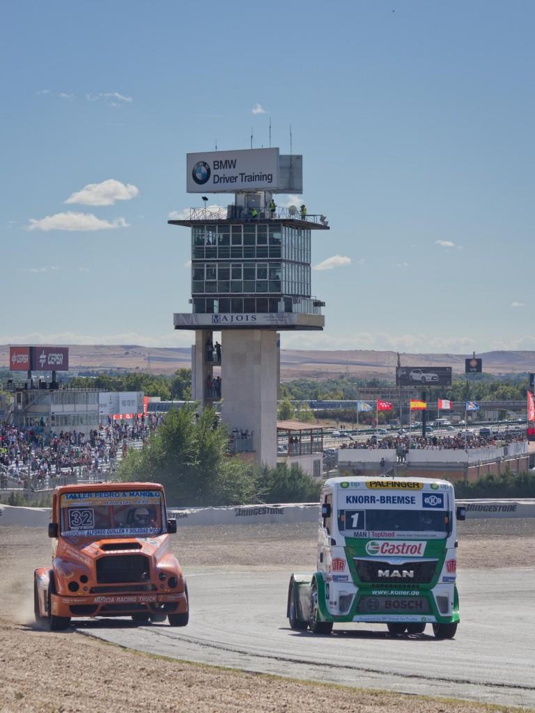 Una imagen de una prueba del Campeonato Europeo de Camiones en el Jarama (WIKIPEDIA).