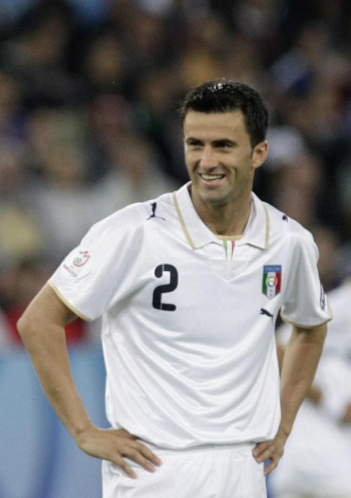 Panucci, con su selección en la Eurocopa de 2008 (Archivo 20minutos).