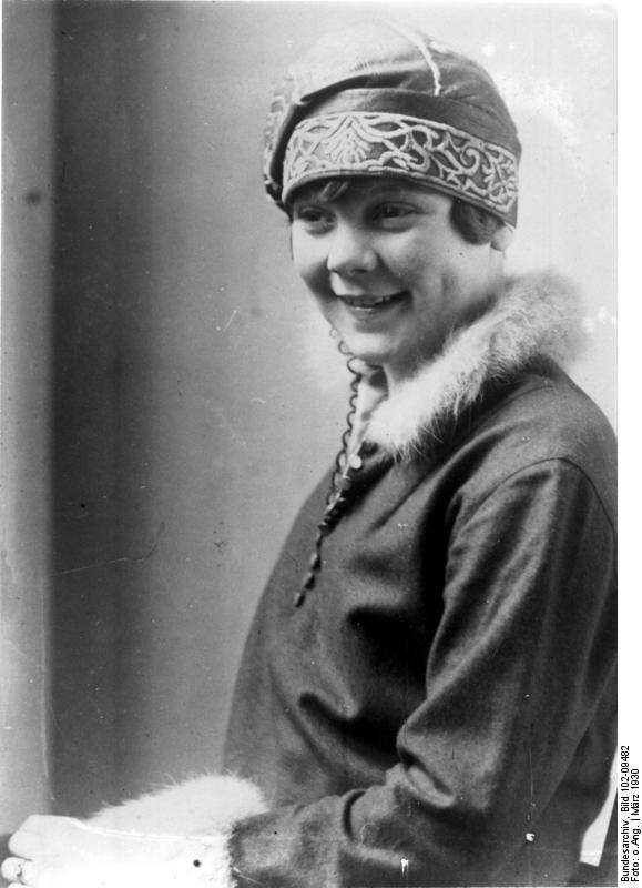Sonja Heine en Berlín, en 1930 (BUNDESARCHIV / WIKIPEDIA).