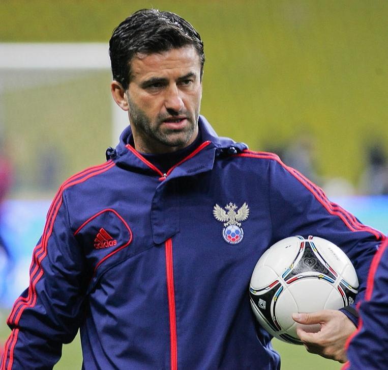 Panucci, en un entrenamiento con la selección rusa (WIKIPEDIA).