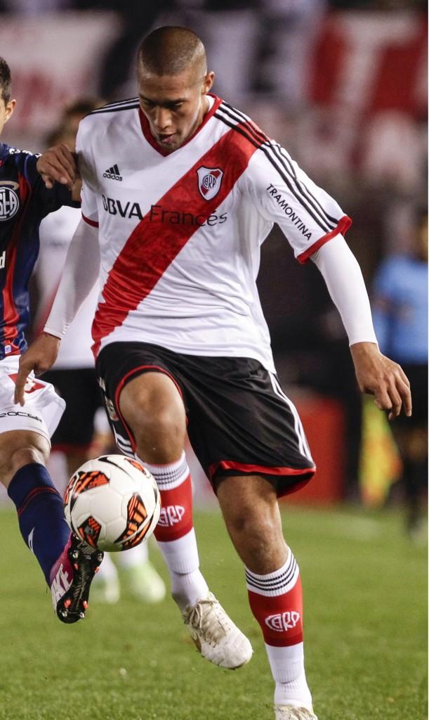 Jonathan Maidana, en un partido de River en 2013 (Archivo 20minutos).