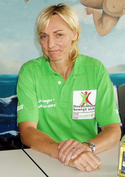 Heike Drechsler, en 2008 (WIKIPEDIA).
