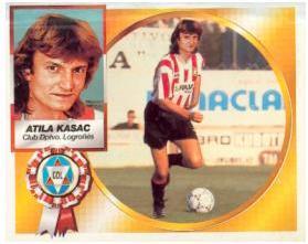 Primer cromo de Atila Kasac en España (Ed. Este).