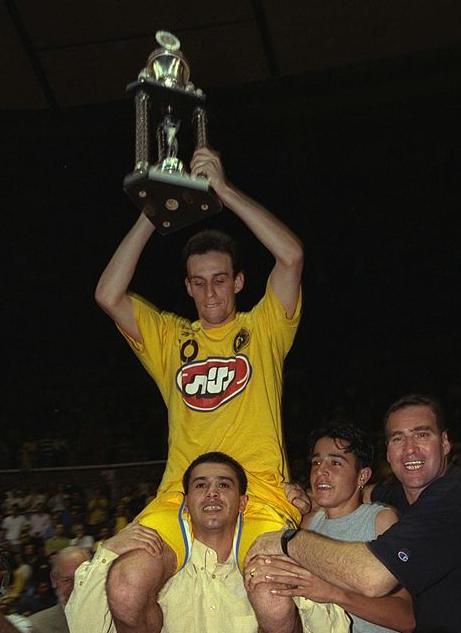 Oded Kattash, celebrando un título de Maccabi (FLICKR)