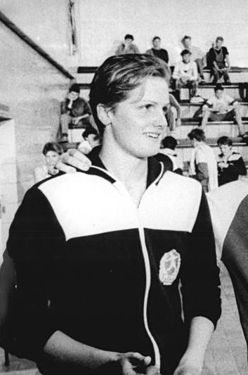 Kristin Otto, en 1986 (WIKIPEDIA).