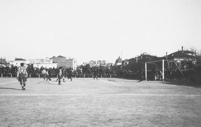 Campo de O'Donnell, del Atlético de Madrid (Web Atlético de Madrid).