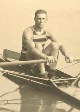 John Brendan Kelly, en su época en la Universidad de Pennsylvania (WIKIPEDIA).