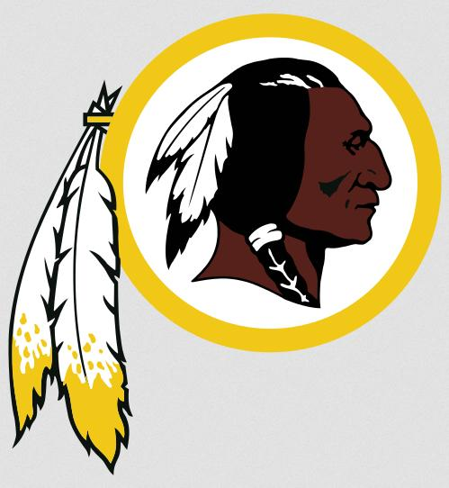Logotipo de los Redskins (WIKIPEDIA).