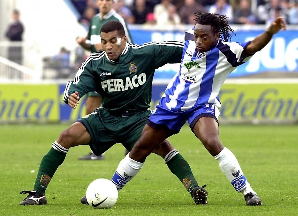 Musampa, en un partido contra el Dépor de Liga española (Archivo 20minutos).