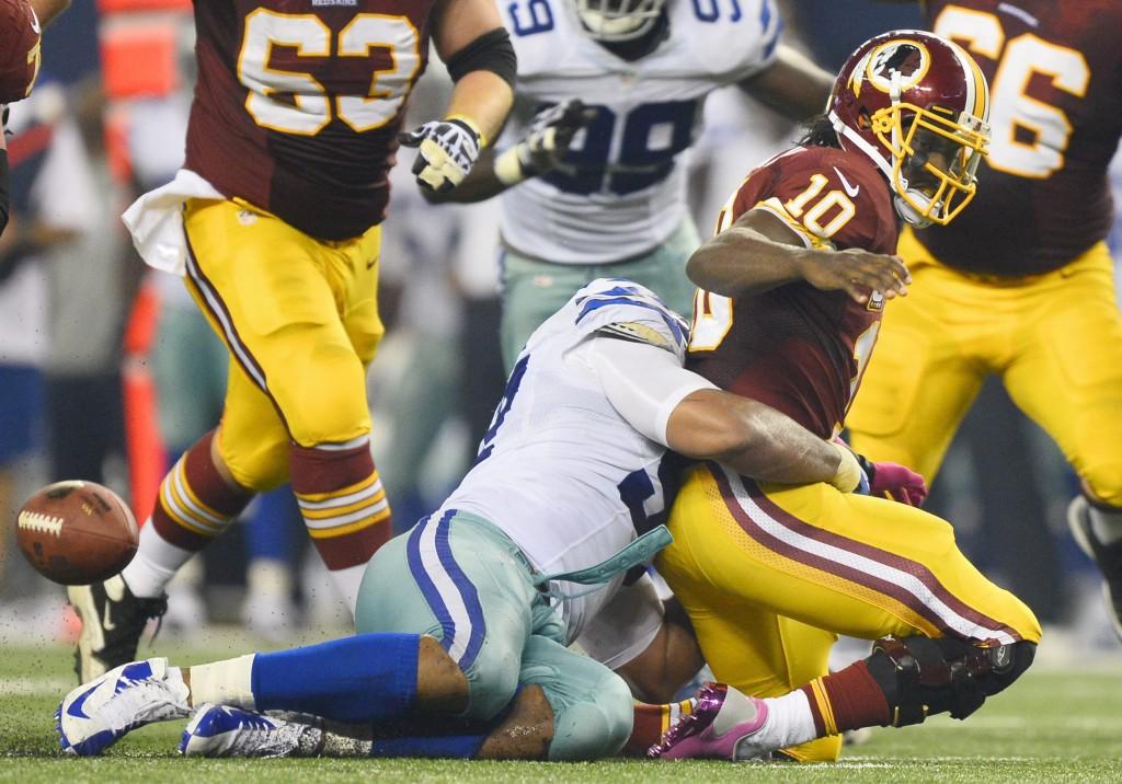Un partido de los Redskins del año 2013 en Dallas (Archivo 20minutos).