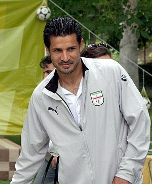 Ali Daei, con el chándal de su selección (EFE).