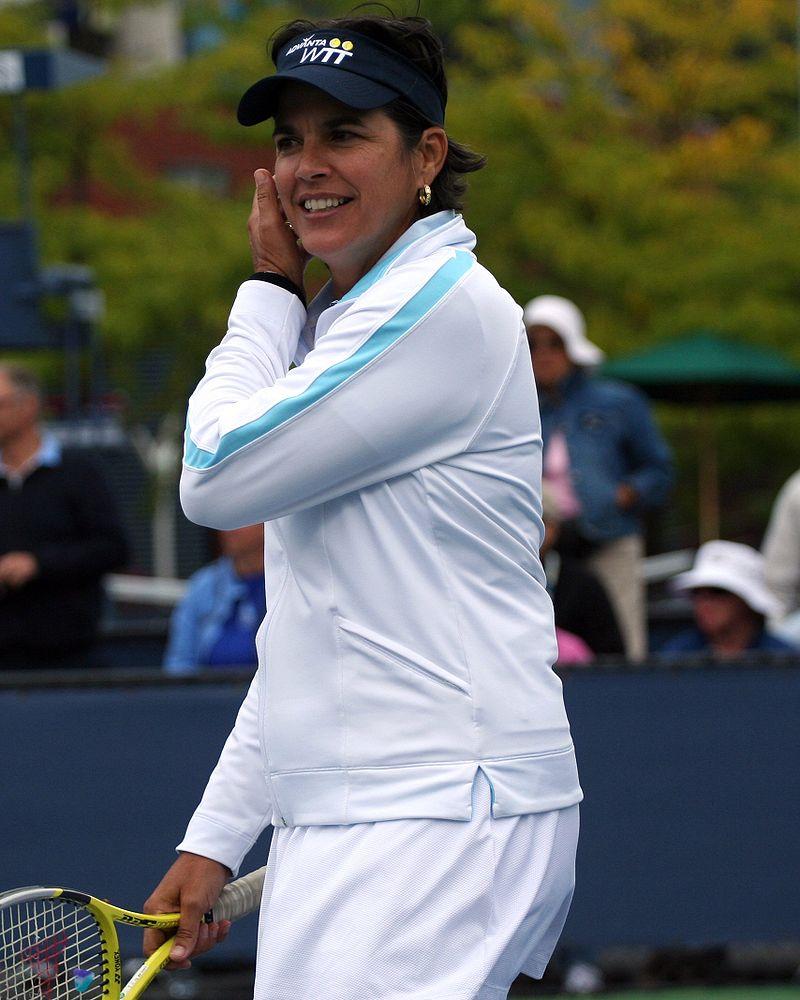 Gigi Fernández, en 2009 (WIKIPEDIA).