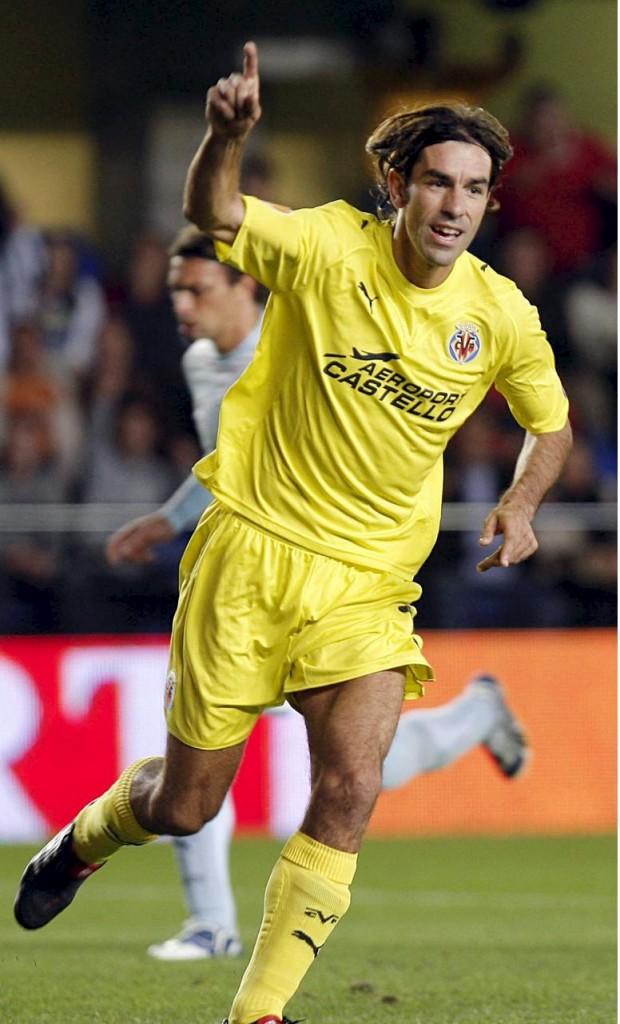 Pirès, celebrando un gol con el Villarreal (Archivo 20minutos).