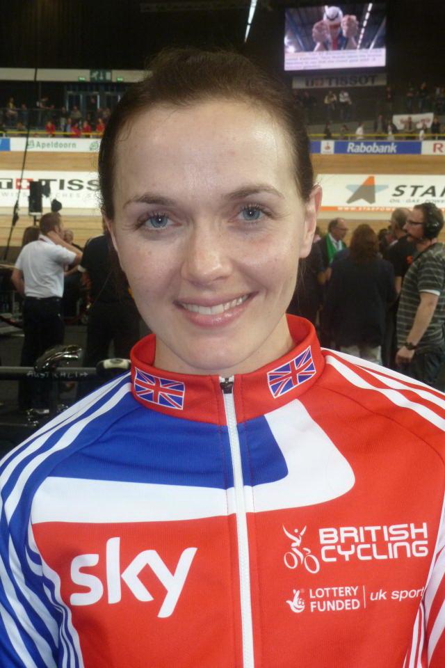 Victoria Pendleton, en una imagen tomada en 2011 (WIKIPEDIA)
