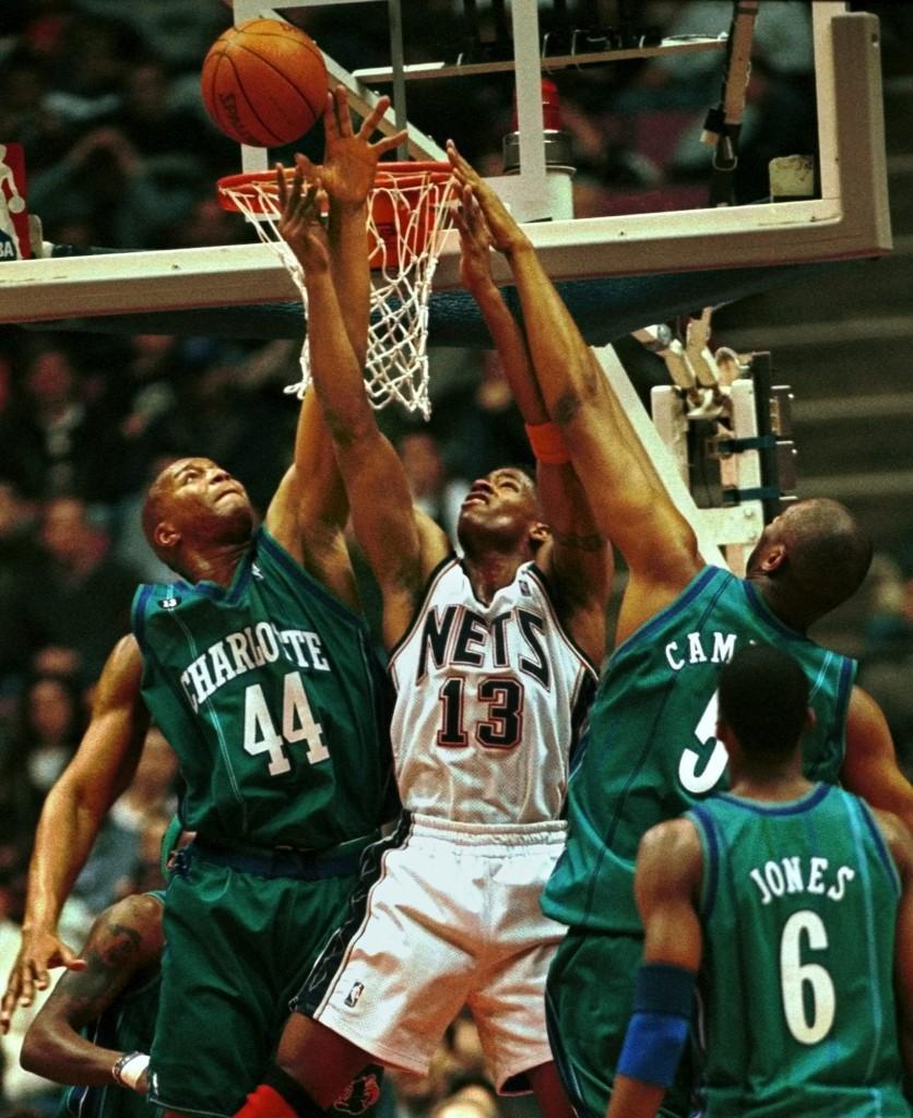 Una imagen de un partido de los Hornets en Nueva Jersey en febrero de 2000 (Archivo 20minutos).
