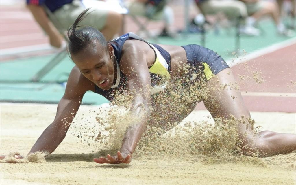 Jackie Joyner-Kersee, en los trials americanos para los Juegos Olímpicos de 2000 (Archivo 20minutos).
